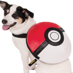 Pokemon Pokeball Dog Backpack
