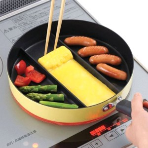 Divided Tamagoyaki Omelette Frying Pan