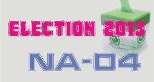 NA-4 Peshawar-IV Result Election 2013