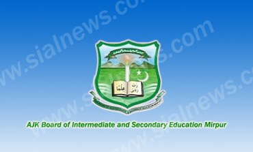 AJK BISE Mirpur Board Inter Part-2 (12th Class) Result 2014 announced