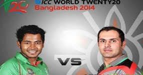 Bangladesh vs Afghnaistan 1st T20 World Cup 2014 Match Live Streaming