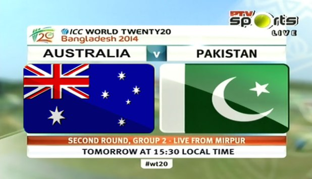 Pakistan vs Australia T20 World Cup Match Live Streaming