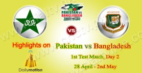 Pakistan vs Bangladesh 1st Test Match Highlights