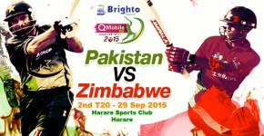 Pak vs Zim 2nd T20 Match Live
