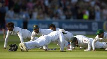 Pakistan celebrate victory at Lord's with push-ups