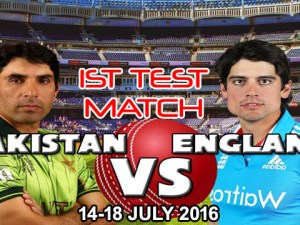 Pakistan vs England 1st Test Match Live Streaming