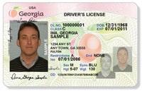 Georgia Driver's License
