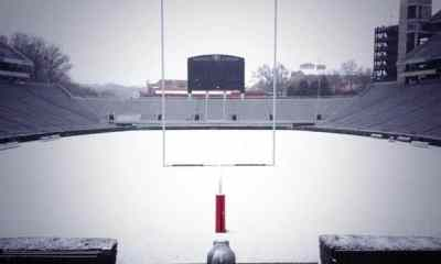 Sanford Stadium Snow - 2014