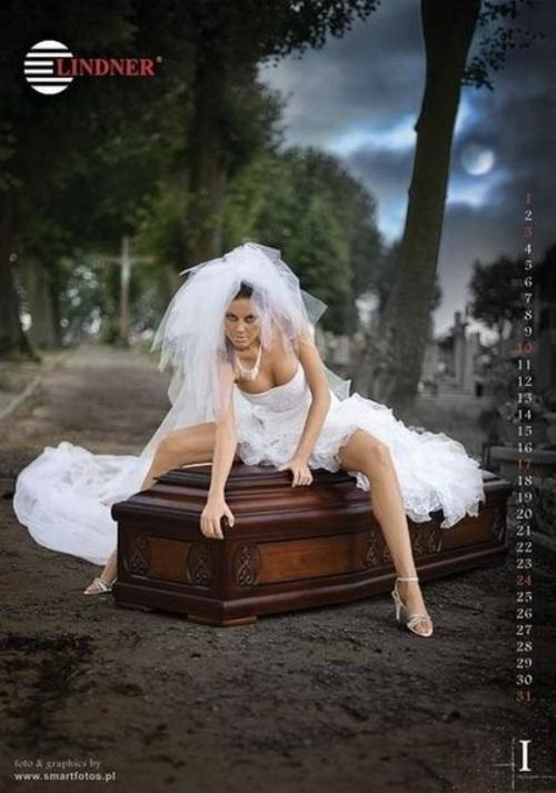 Nude Coffin Polish Calendar 3