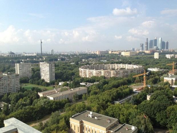 Soviet Architecture - Matveevsky - House-Ring 2