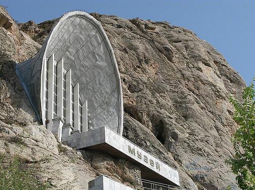 Soviet Architecture - Mount Suleiman museum - Kyrgyzstan