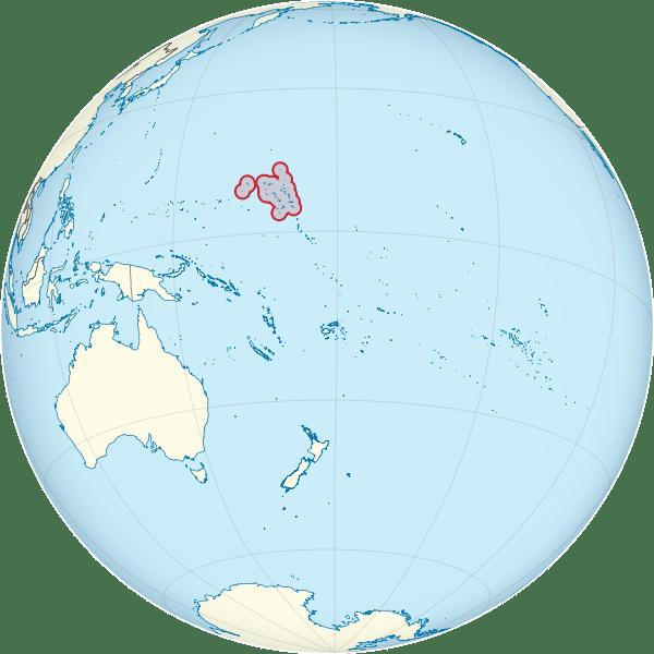 Jose Ivan Alvarengo - Castaway - Marshall Islands map