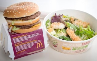 Double Cheeseburger Kale Salad