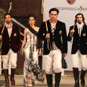 Deepak Perwani at Porsche Polo Diaries Fashion Show. A multi-designer collection paying tribute to the historical game of Polo.