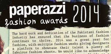 Paperazzi Magazine Fashion Awards 2014