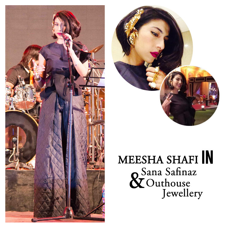 Meesha Shafi in Outhouse