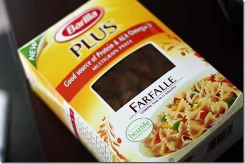 barilla pasta plus