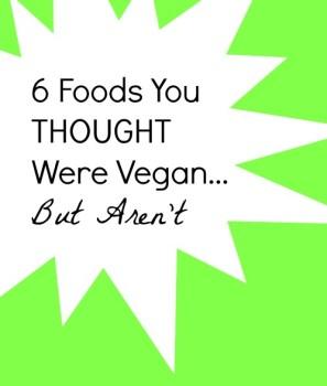 non vegan foods