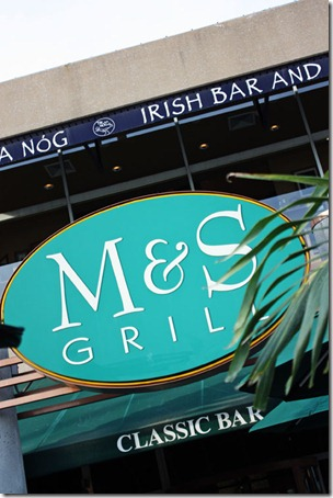 m&s grill at the inner harbor