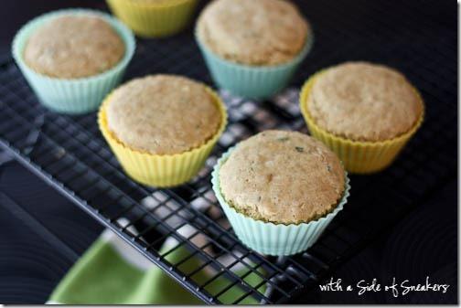 healthy mojito cupcakes