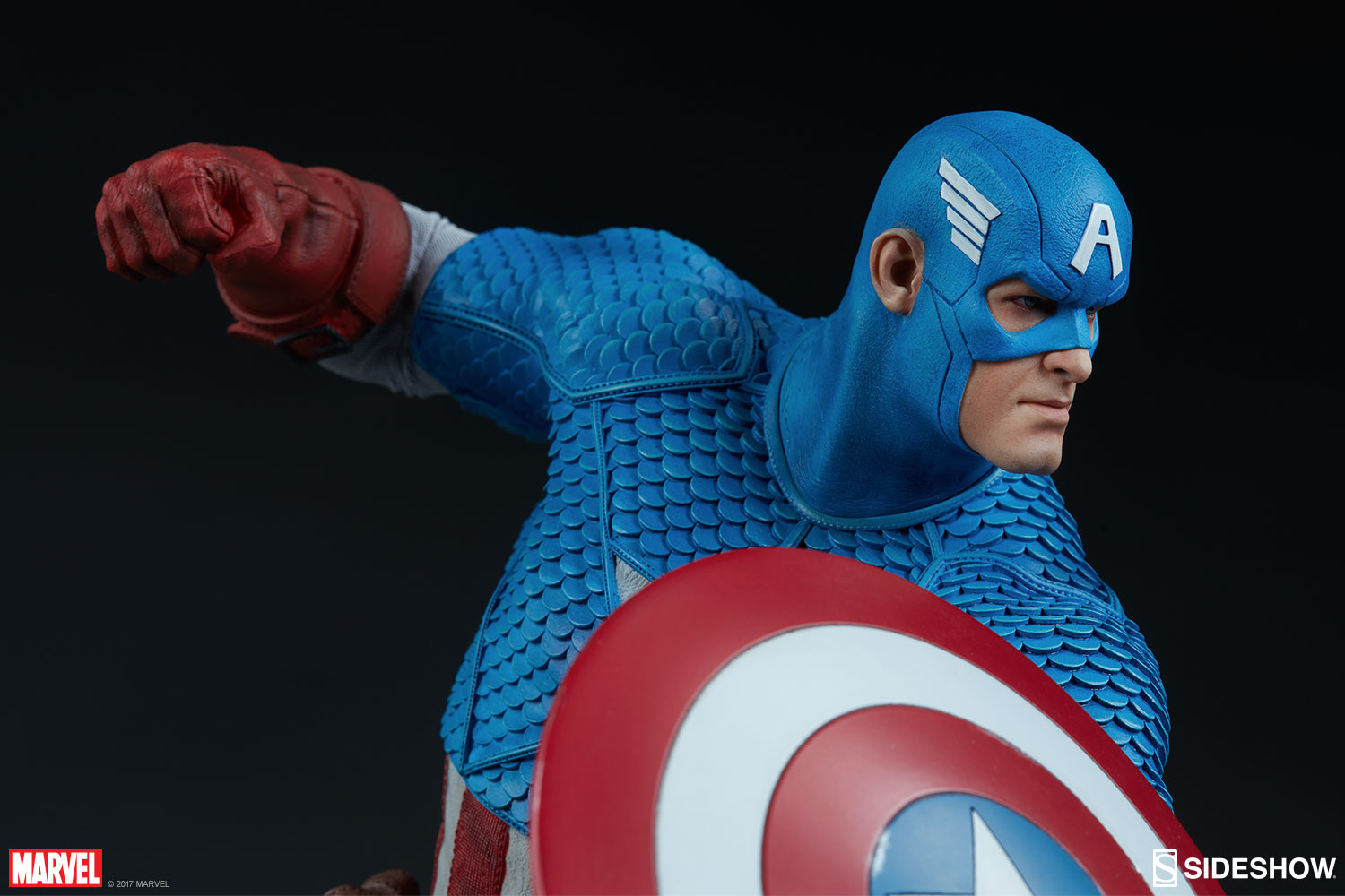 Marvel Captain America Statue by Sideshow Collectibles   Sideshow     Captain America Statue Captain America Statue