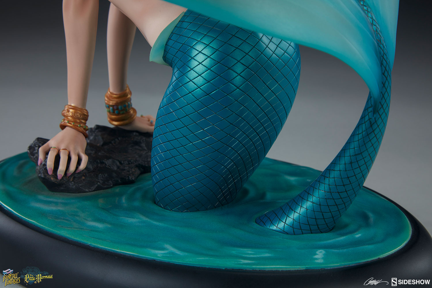 J Scott Campbell The Little Mermaid Statue by Sideshow Colle     The Little Mermaid Statue The Little Mermaid Statue