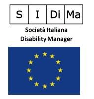 Logo di sidima e la bandiera della Comunità Europea