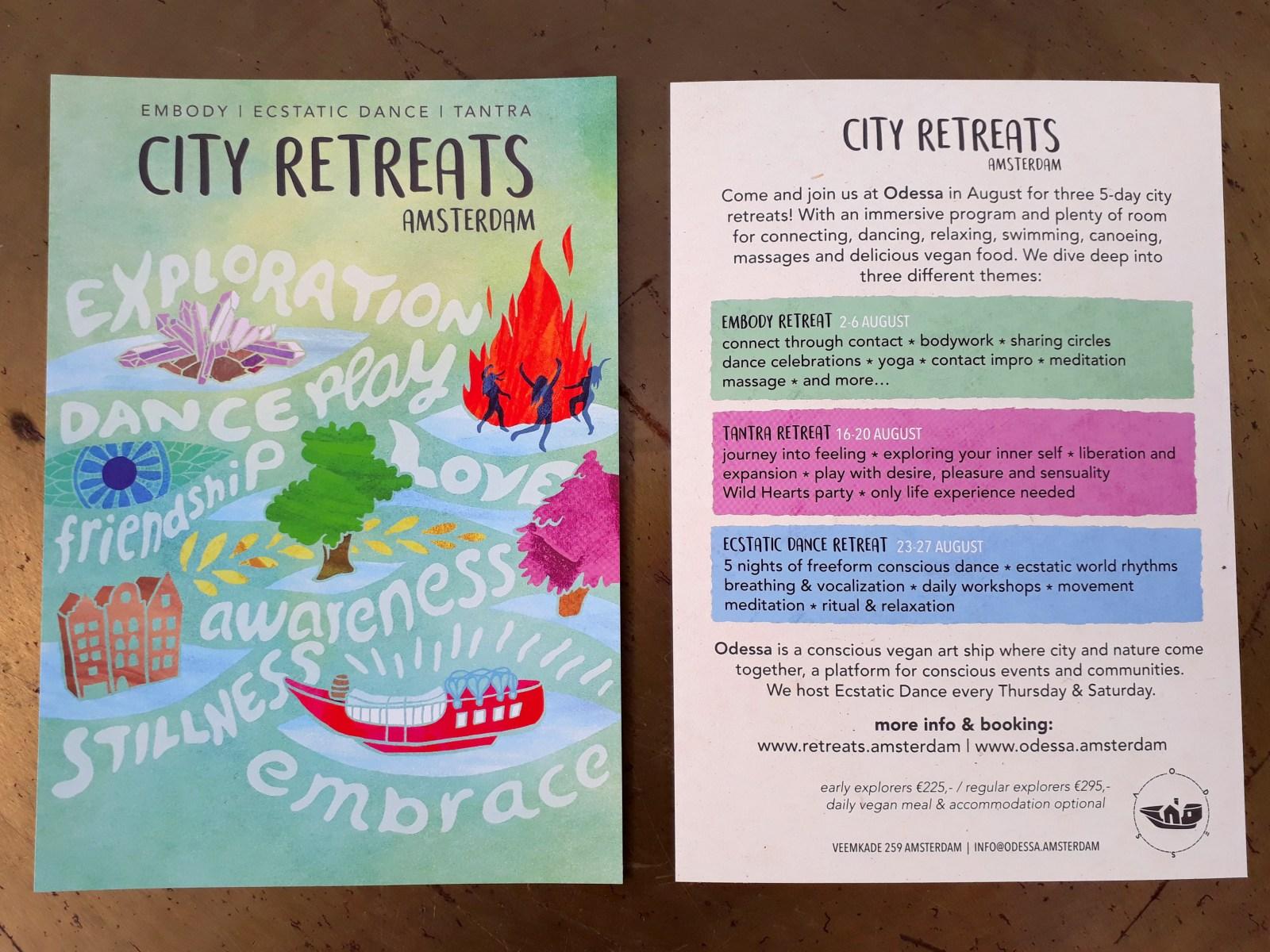 City Retreats Flyer 2017