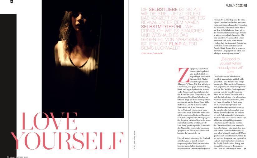 Love Yourself: Selbstmitgefühl (für Flair)