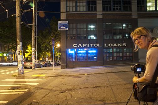 Lisa Ahlberg Capitol Hill Longshot