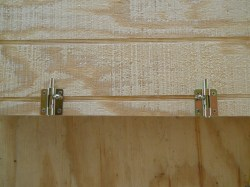 Riveting Attic Access Door Bolt Latches Sifford A House Update Xxxii Attic Access Attic Access Door 22x30 Attic Access Door Installation