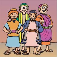 Abraham had trained servants