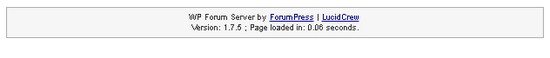 WP Forum Server by ForumPress removed