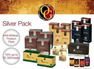 Organo Gold Silver Package