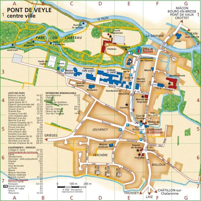 Plan Pont de Veyle centre (01)