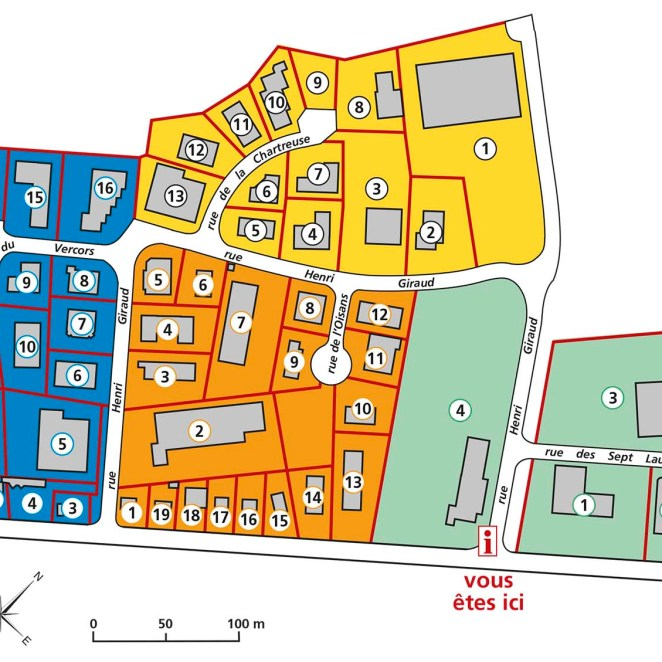 Plan Zone d'activités
