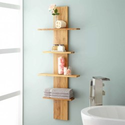 Small Crop Of Bathroom Wall Shelf