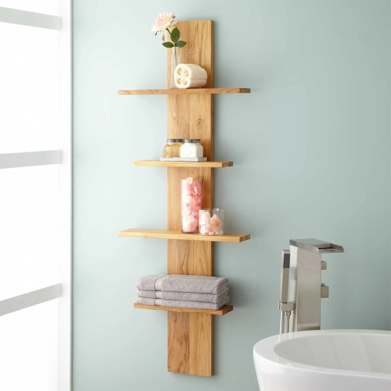 Large Of Bathroom Wall Shelf