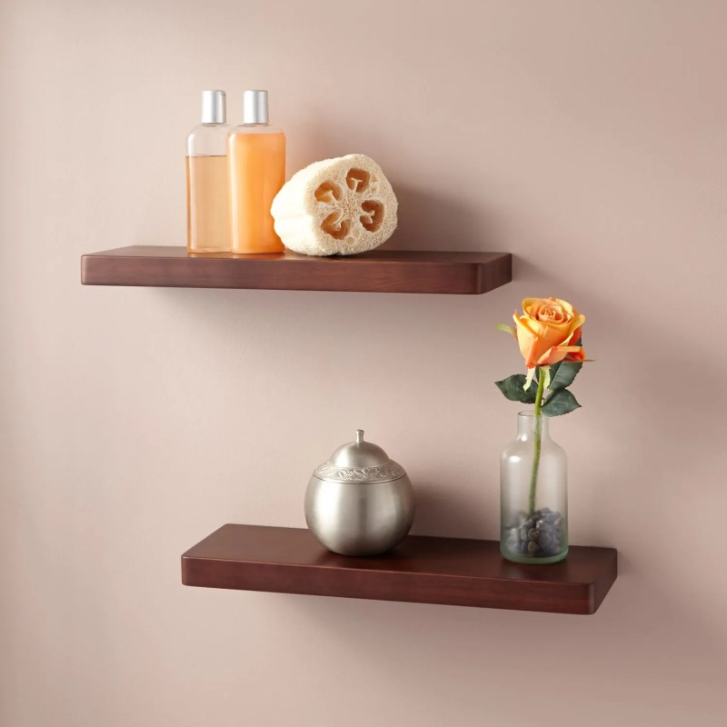 Large Of Unique Bathroom Wall Shelves