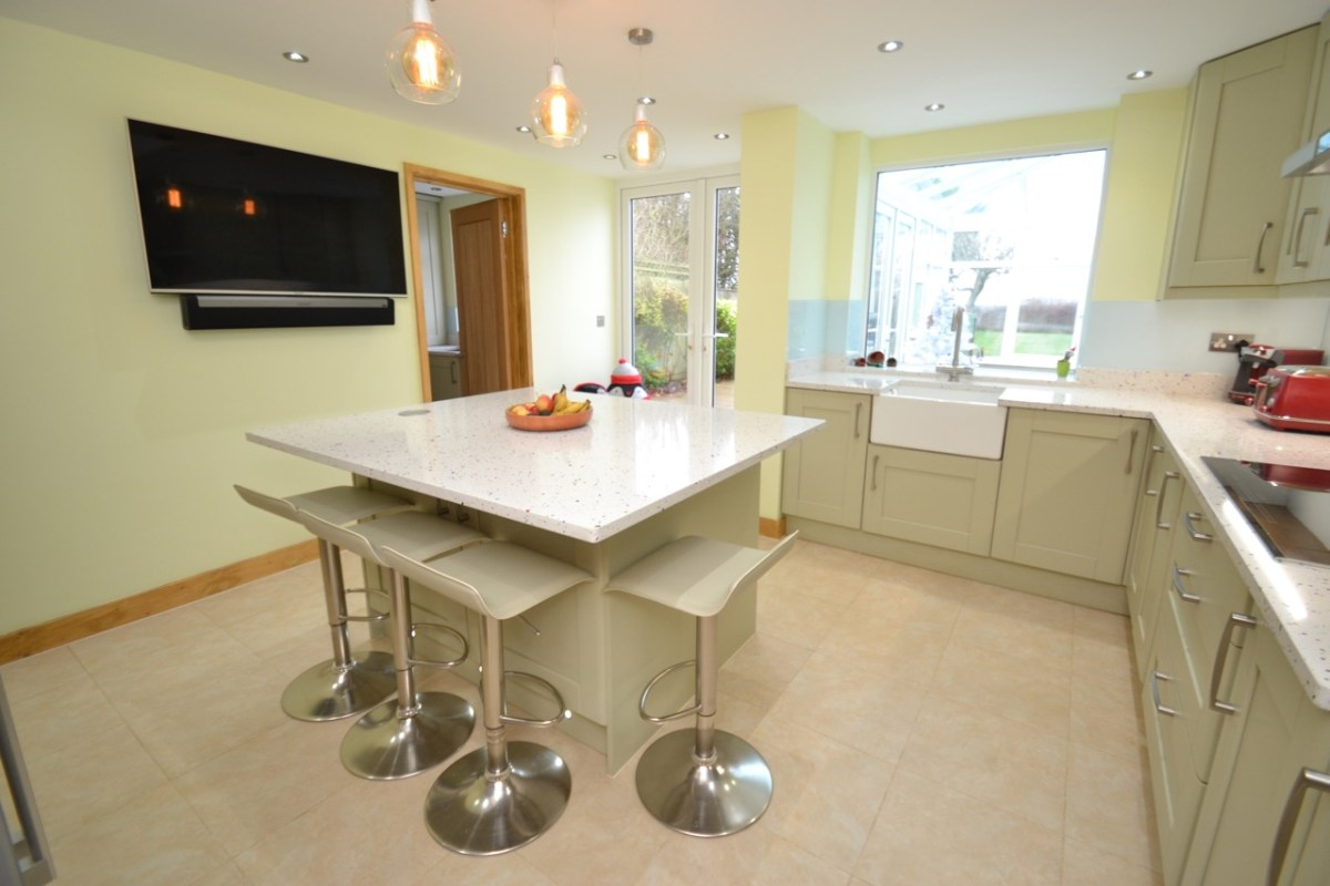Kitchen Utility Extension With Wet Room Signature Homes Ltd