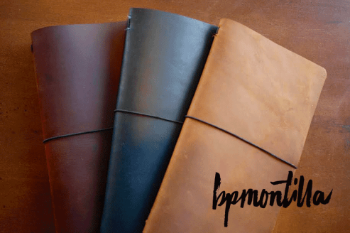 BPMnotilla fauxdori traveler's notebooks