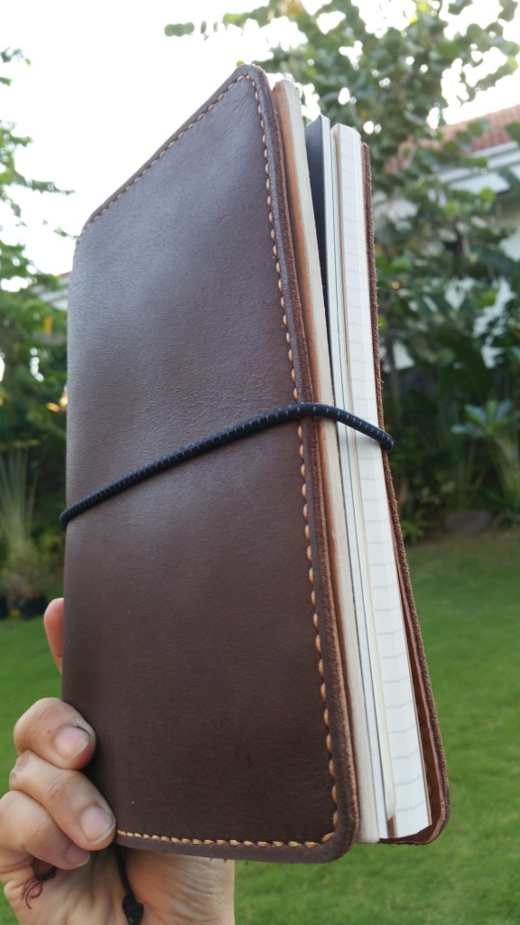 A5 Travelers Notebook by Sunday LEather Craft