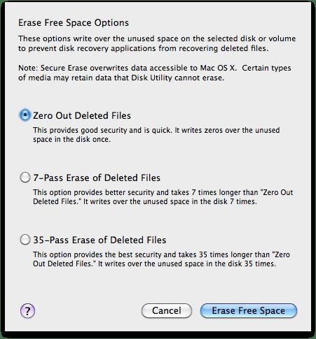 sihirli elma bos alani guvenli silmek 3 Mac101: Nasıl format atılır? (Bir diski biçimlendirmek)