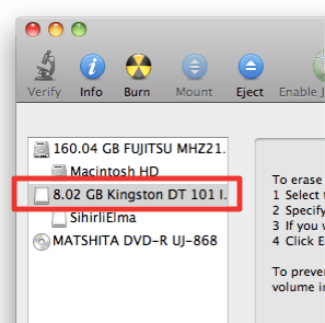 sihirli elma disk format bicimlendirmek 1 Mac101: Nasıl format atılır? (Bir diski biçimlendirmek)