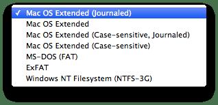 sihirli elma disk format file system types Mac101: Nasıl format atılır? (Bir diski biçimlendirmek)