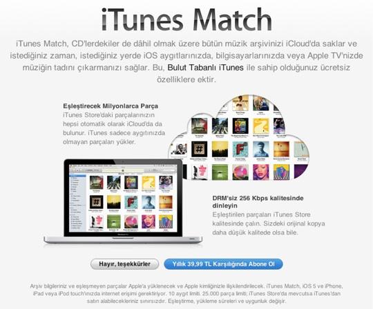 sihirli elma itunes match nedir nasil kullanilir 1 iTunes Match nedir? Nasıl kullanılır?