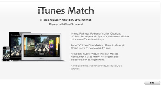 sihirli elma itunes match nedir nasil kullanilir 11a iTunes Match nedir? Nasıl kullanılır?