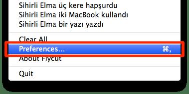 sihirli elma editor yazi kopyala flycut jumpcut pano 7 Editörler için hayat kurtaran uygulama: Flycut