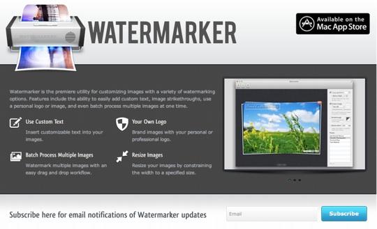 sihirli elma watermarker filigran 11 Watermarker: Filigran yapmak çok kolay!