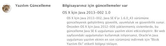sihirli elma java guvenlik guncelleme 2013 002 6 Java için bir güvenlik güncellemesi daha: 2013 002